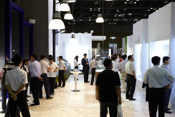 Participating in LED EXPO Exhibition 2012